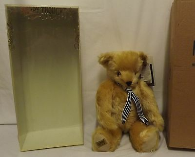 "Boxed 18"" Merrythought Yes-No Jointed Mohair Teddy Bear Ltd. Ed. Az18Q"