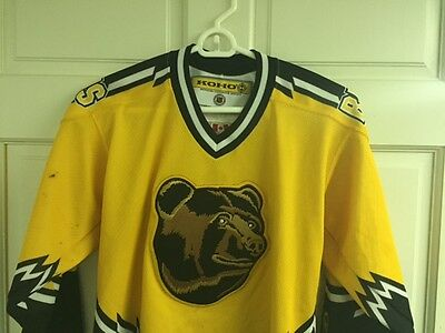 186821db3fe ... pooh bear 837eb 6d71d; where to buy vintage boston bruins koho youth  jersey small stitched nhl rare d2f6c 3c949