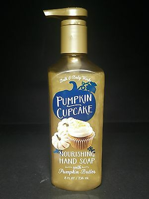 PUMPKIN CUPCAKE Nourishing Hand Soap with Pumkin Butter - BATH & BODY WORKS