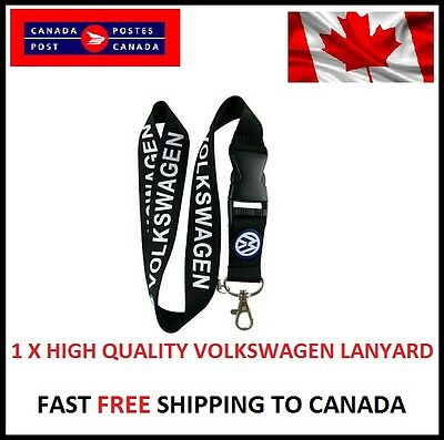 VOLKSWAGEN Key Chain lanyard, Cell phone lanyard, Key Chains GTI GOLF Jetta R VW