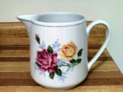 Pitcher china floral
