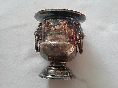 Vintage Viners Of Sheffield Silver Plated Tooth Pick Urn