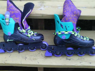 Inline skates youth   used  size 3