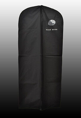 NEW HUGO BOSS Black Waterproof Suit Protector Travel Garment Bag