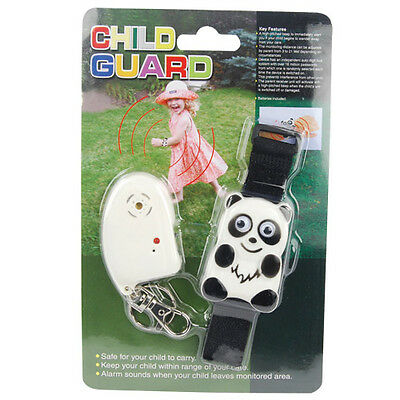Toddler Tracker - Child Security Alarm - The Child Guard Panda Signal The Adult.