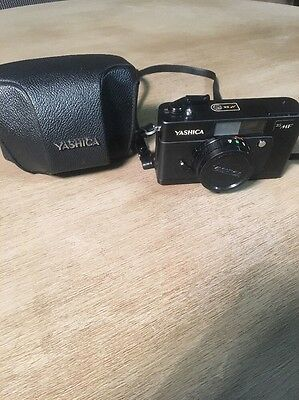 Yashica 35MF 35mm Camera with strap Case