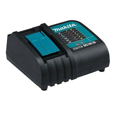 New Makita 7.2V-18V Li-Ion & Ni-Mh Lxt Battery Charger Dc18Sd (Charger Only)