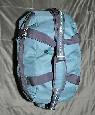 """Lehman Brothers ~  Duffle On Wheels """" ~ Travel Size ~ New!"""