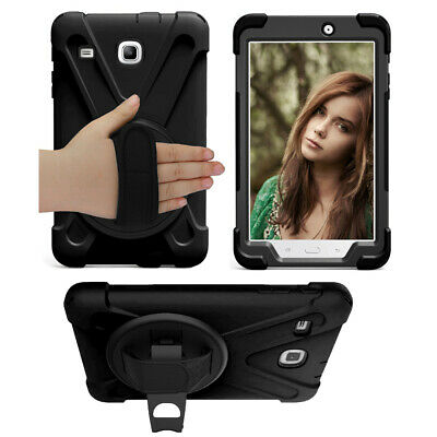 Shockproof Hybrid PC Hard Case Cover for Samsung Galaxy Tab E 8 8.0 T377 SM-T377