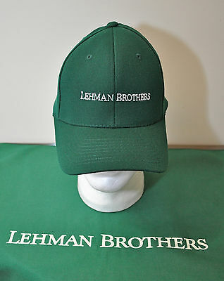 Lehman Brothers ~ Sports Cap ~ Baseball Cap ~ Embroidered ~ Only One ~ New!