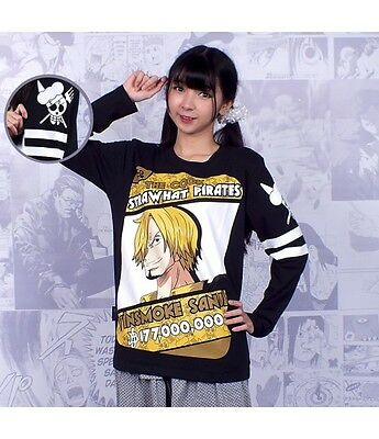 One Piece Sanji The Cook Long Sleeve Tee Shirt