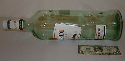 "Giant BACARDI Bottle 3L 3 Liters 18"" Tall Bar Display Rum Liquor Large Party FUN"