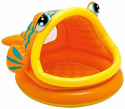 "Intex pool lazy fish Inflatable baby pool 49"" X 43"" X 28"", for Ages 1-3 New"
