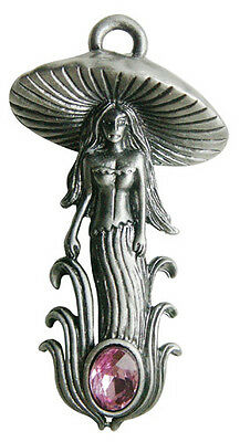 The Mushroom Fairy Charm for Transformation & Illumination Witch Wicca Pagan