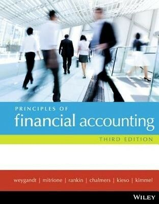 Principles of Financial Accounting by Jerry J. Weygandt Paperback Book