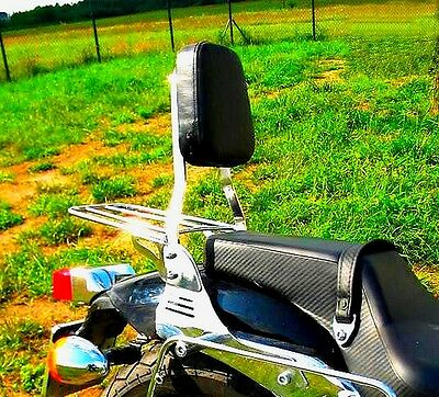 Honda  Vt 750 Dc Black Widow (Rc 48) Sissy Bar Passenger Backrest + Luggage Rack