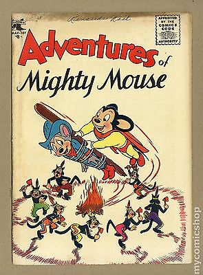 Adventures of Mighty Mouse (1952 St. John) #18 GD 2.0
