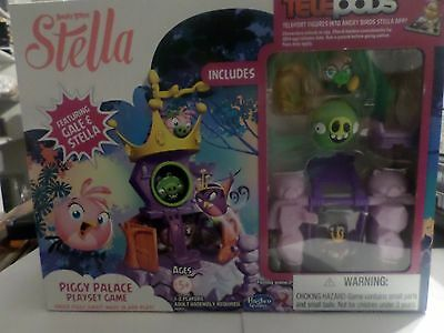 Angry Birds Stella Telepods Piggy Palace Playset Game [Stella & Gale] by ... New
