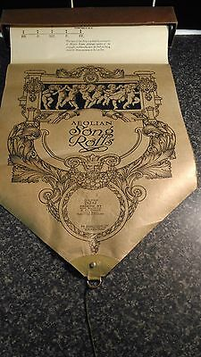 AEOLIAN SONG ROLL,FULL SCALE 26242- PASSING BY. Vintage BOXED Antique