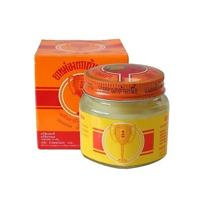 Golden Cup Balm Thailand Ointment Muscular Pain Relief Large 50g Jar LOW PRICE!.