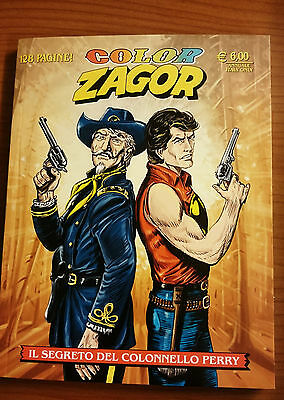 COLOR ZAGOR - Il segreto del colonnello Perry n° 4
