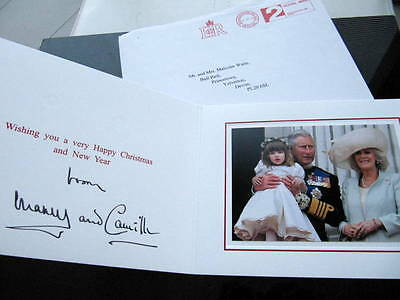 King Charles And Queen Camilla? - RARE - Signed in ink -  Photo Card