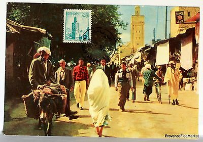 Carte Maximum  Maroc Chella A Rabat      Av162