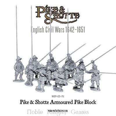 Warlord Pike & Shotte 28mm Armored Pike Block Pack MINT