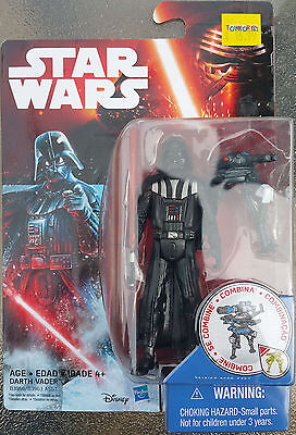 Star Wars The Force Awakens - Darth Vader Action Figure MOSC 2015