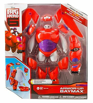 Disney Big Hero 6 Armour-up Baymax Figure Brand New Childrens Playset 20 Pieces