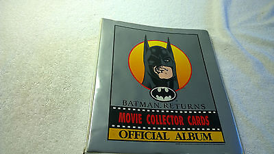 Dynamic Marketing NZ Australia Batman Returns Full Card Sticker Set Binder Lota