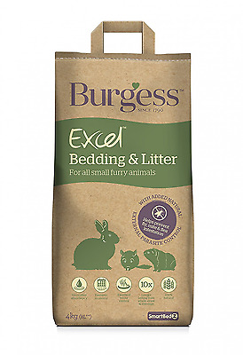 Burgess Excel Bedding and Litter 8 Litre