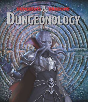 Dungeonology by Matt Forebeck Hardcover Book Free Shipping!