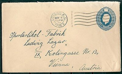 GB 1926 POSTAL COVER 2.5d SLAZENGERS LIMITED LONDON TO AUSTRIA -CAG 291116