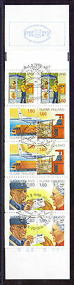 FINLAND 1988 stamp booklet 350th Anniversary of Postal Service fine used (CTO)