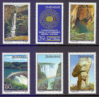 ZIMBABWE 1991 stamps Commonwealth Heads of Government Meeting um (NH) mint