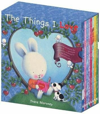 The Things I Love About... by Trace Moroney Hardcover Book