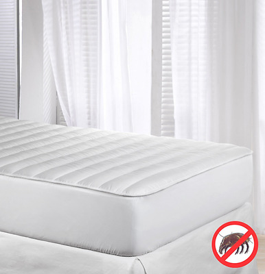Velfont Anti-dustmite Reversible Silky Soft Quilted Mattress Protector/Mattress