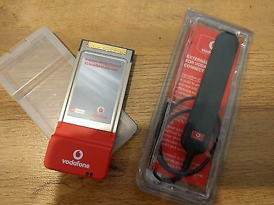 Option Vodafone GT 3G+ EMEA Broadband Data PCMCIA Card NL1LBL-21792_3 inc Aerial