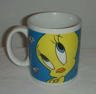 Looney Tunes Tweety Bird & Sylvester Mug by Gibson 1998 Warner Bros.