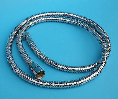"""Lux 1/2""""F.x 3/8""""F. double interlock brass 1.5m hose for pull out shower or tap"""