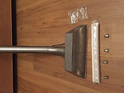 Stainless carpet cleaning wand