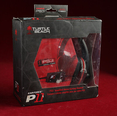 Turtle Beach Earforce P11 Gaming Headset for PS3/pc/mac