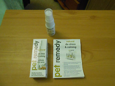 Pet Remedy de stress & calming refillable mini spray 15ml
