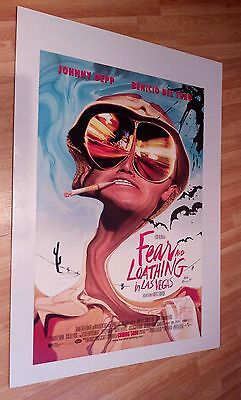 Fear and Loating in Las Vegas - Original US One Sheet Cinema Poster