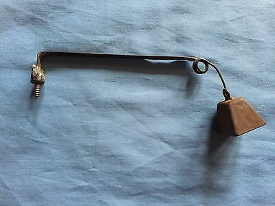 "Vintage Metal Doorbell (5-1/4"" arm)"