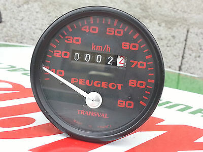 N.O.S Compteur TRANSVAL PEUGEOT mobylette 103 gt10 gl10 tsa mobylette