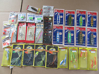 33 Lures! Spoons, Jigs, Spinners, Get Fishing! Eppinger Hydra, King,
