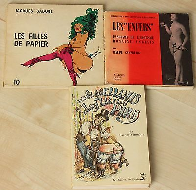 Collection of 3 Erotic French Books