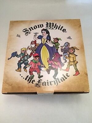 Paul Cardew Snow White Fairytale Miniature Tea Set Disney Collectors Box Pot Cup